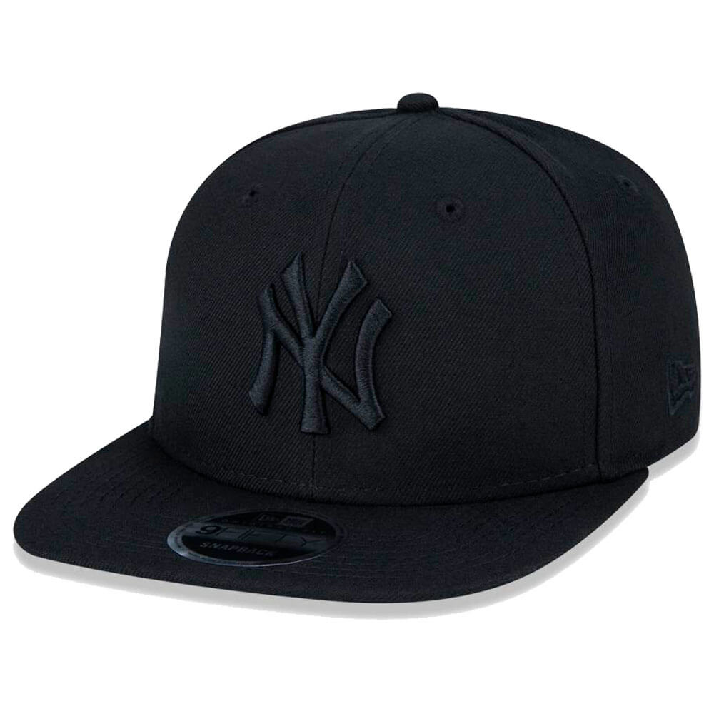 Boné New Era Aba Reta 950 SN MLB NY Yankees OF Blackout
