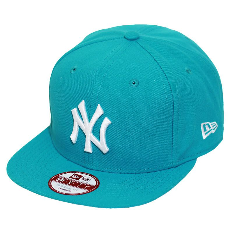 Boné New Era Aba Reta 950 SN MLB NY Yankees OF Colors Verde Claro