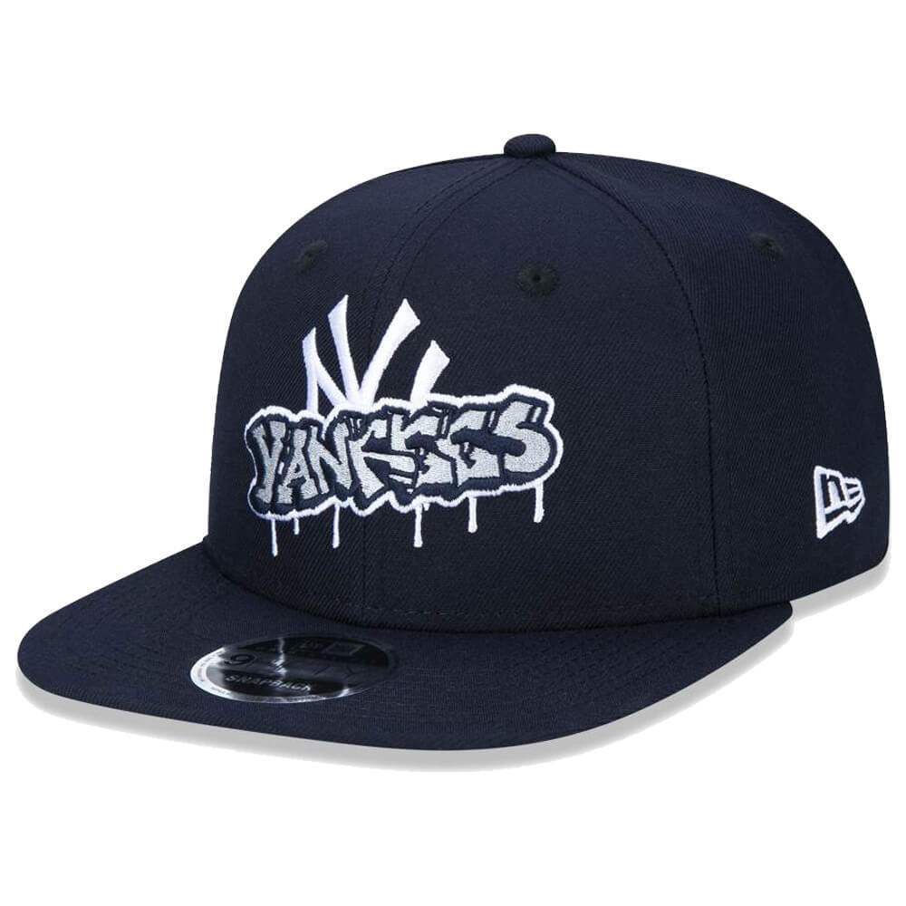 Boné New Era Aba Reta 950 SN MLB NY Yankees OF Graffiti
