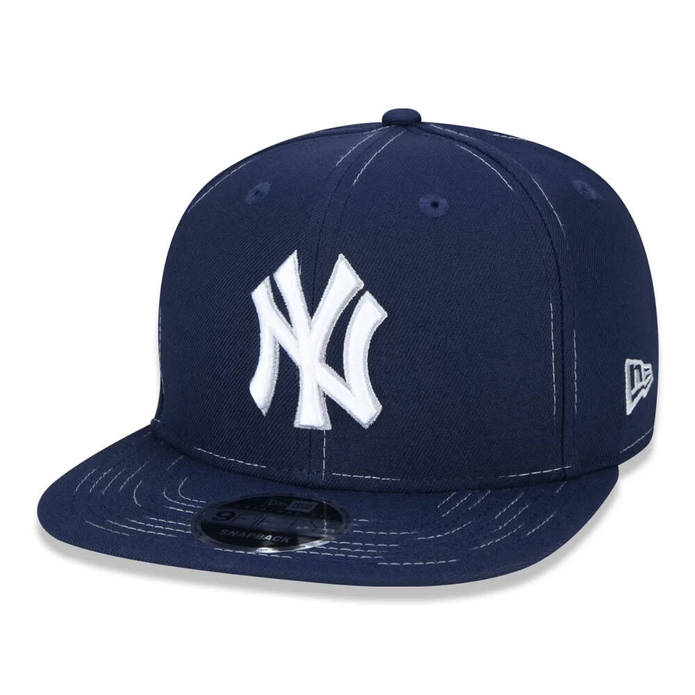 Boné New Era Aba Reta 950 SN MLB NY Yankees OF Savvy Stitch