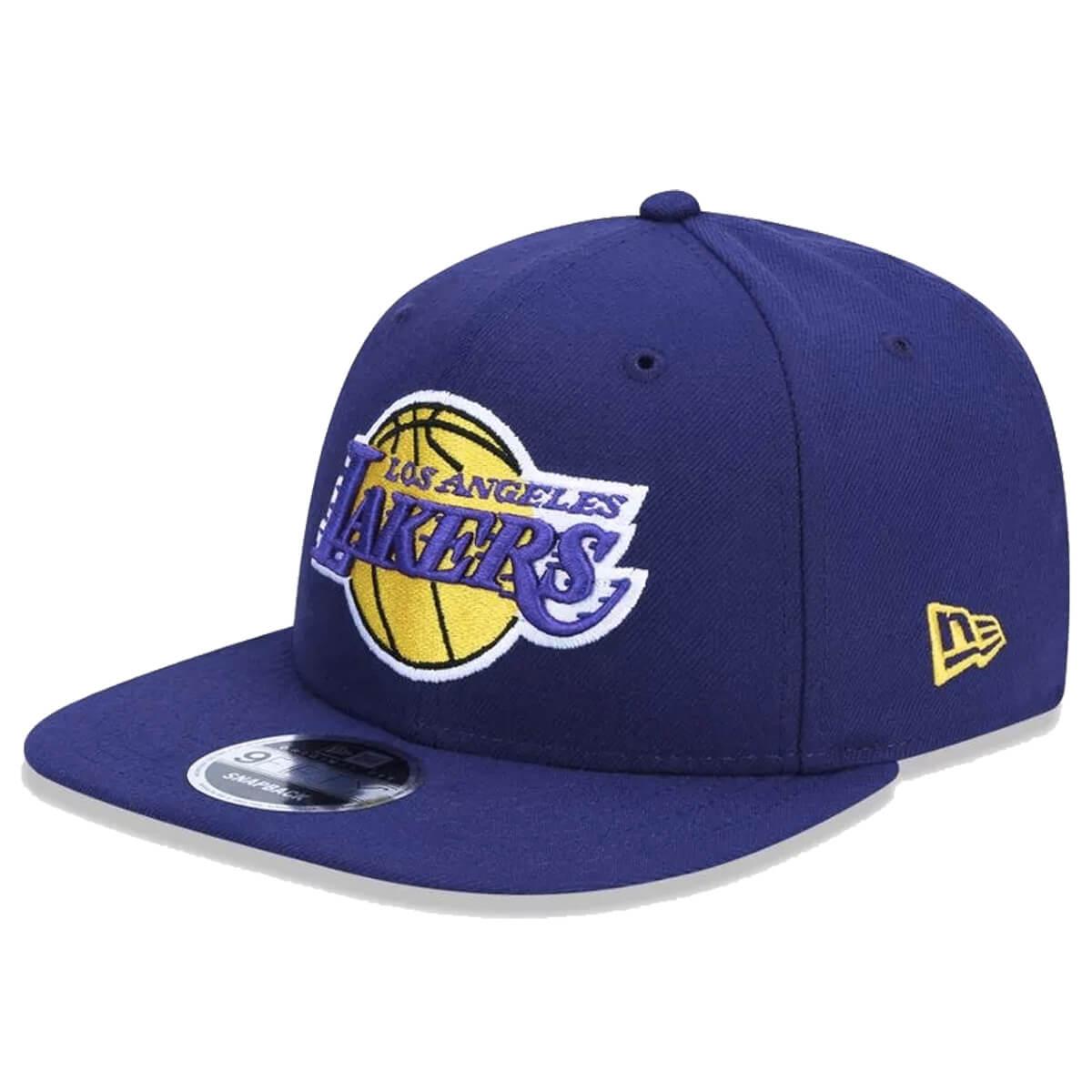 Boné New Era Aba Reta 950 SN NBA Lakers Team Color