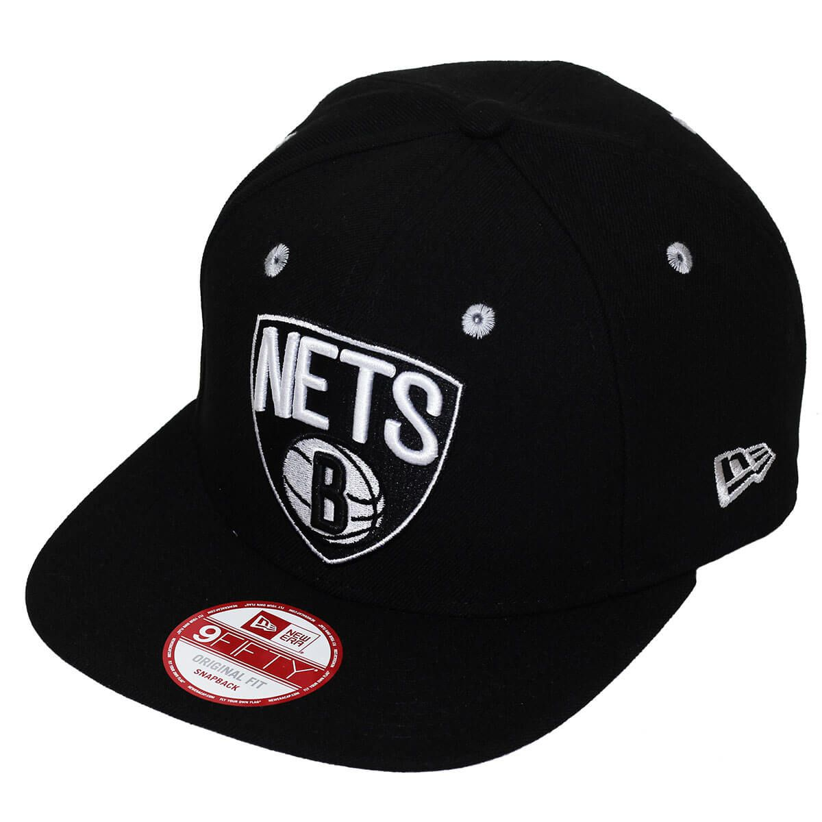 Boné New Era Aba Reta 950 SN NBA Nets Team Color