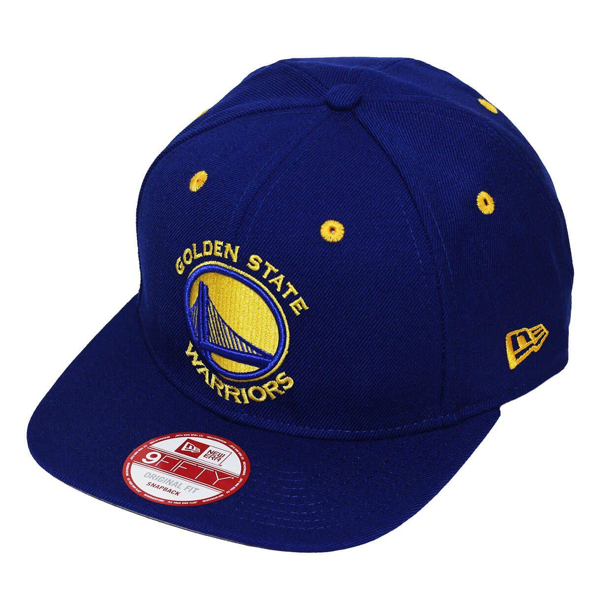 Boné New Era Aba Reta 950 SN NBA Warriors Team Color