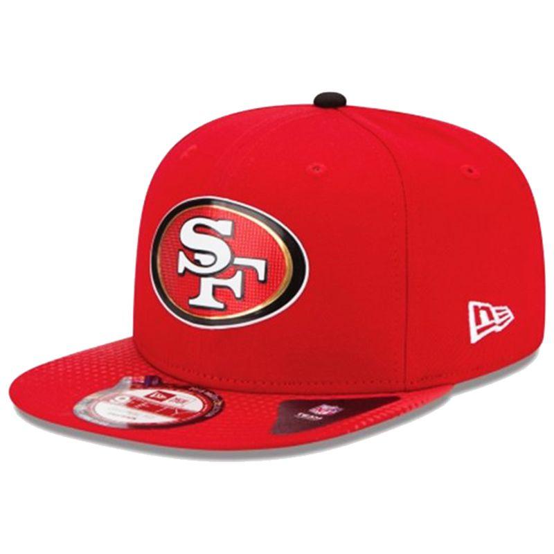 Boné New Era Aba Reta 950 SN NFL 49ers Draft Patch