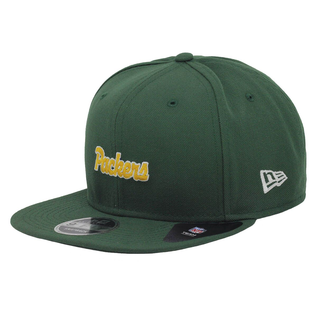 Boné New Era Aba Reta 950 SN NFL Packers Mini Script