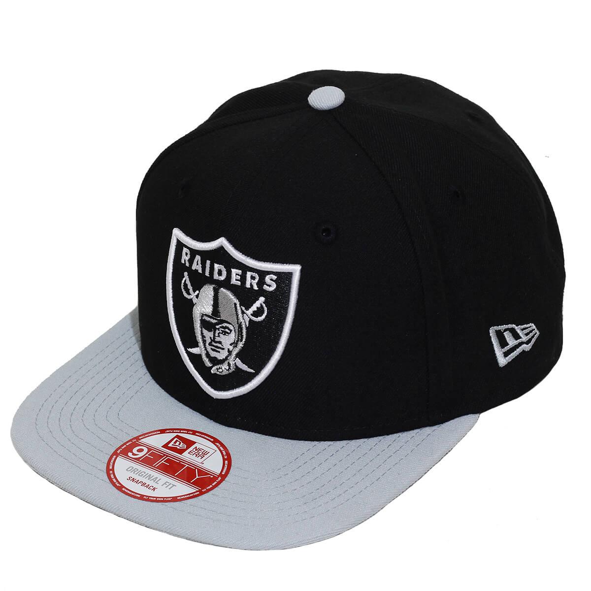 Boné New Era Aba Reta 950 SN NFL Raiders Classic Team