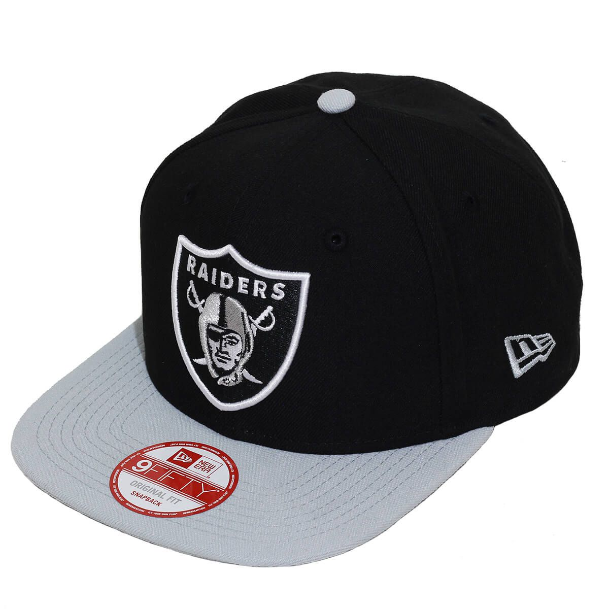 Boné New Era Aba Reta 950 SN NFL Raiders Classic Team