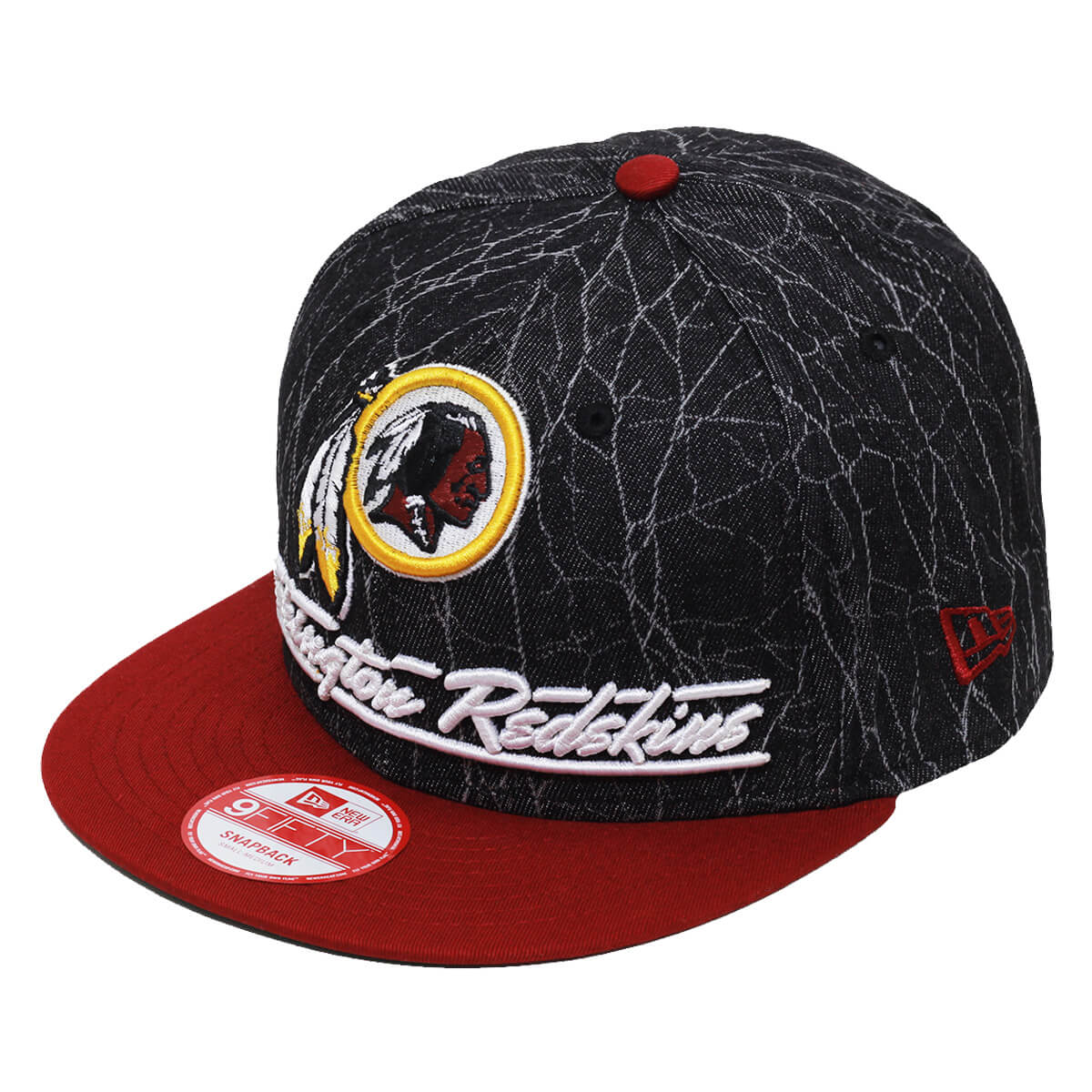 Boné New Era Aba Reta 950 SN NFL Redskins Lightning