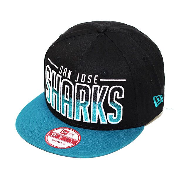 Boné New Era Aba Reta 950 SN NHL Sharks Team Fade