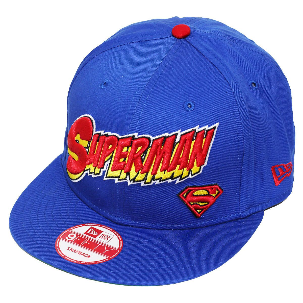 Boné New Era Aba Reta 950 SN Superman Character