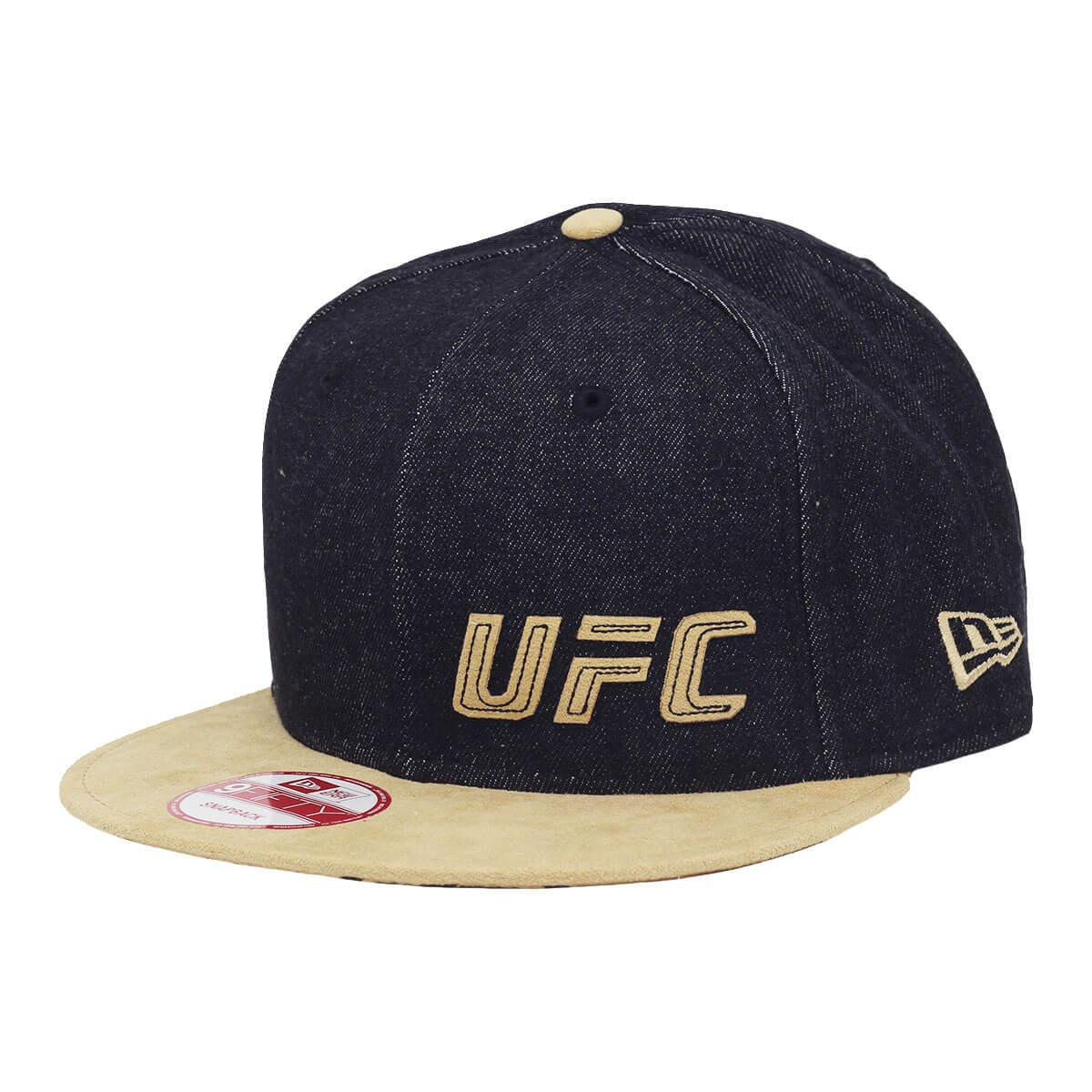 Boné New Era Aba Reta 950 SN UFC B Jeans