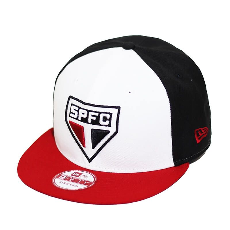 Boné New Era Aba Reta 950 ST Futebol São Paulo