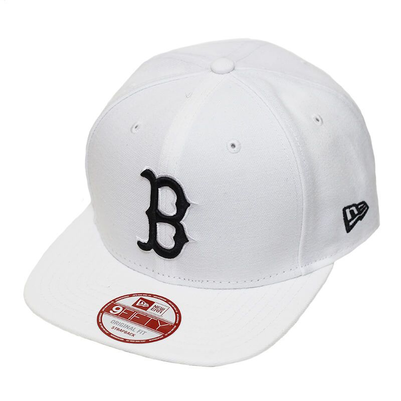 Boné New Era Aba Reta 950 ST MLB Boston OF Colors Branco