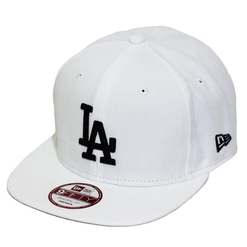 Boné New Era Aba Reta 950 ST MLB Los Angeles OF Colors Branco