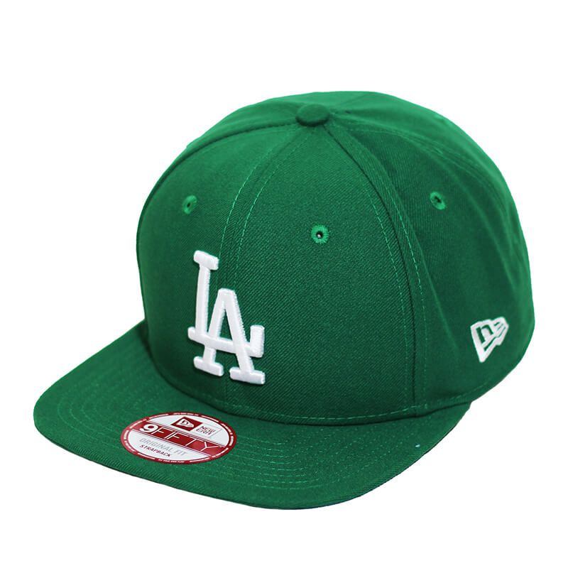 Boné New Era Aba Reta 950 ST MLB Los Angeles OF Colors Verde