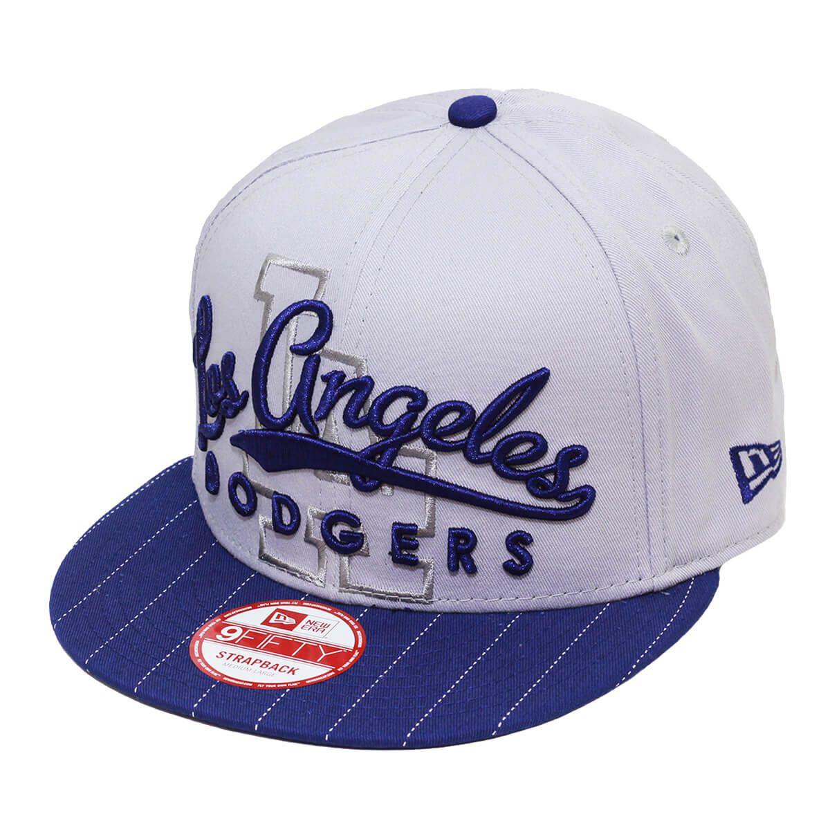 Boné New Era Aba Reta 950 ST MLB Los Angeles Pinstripe