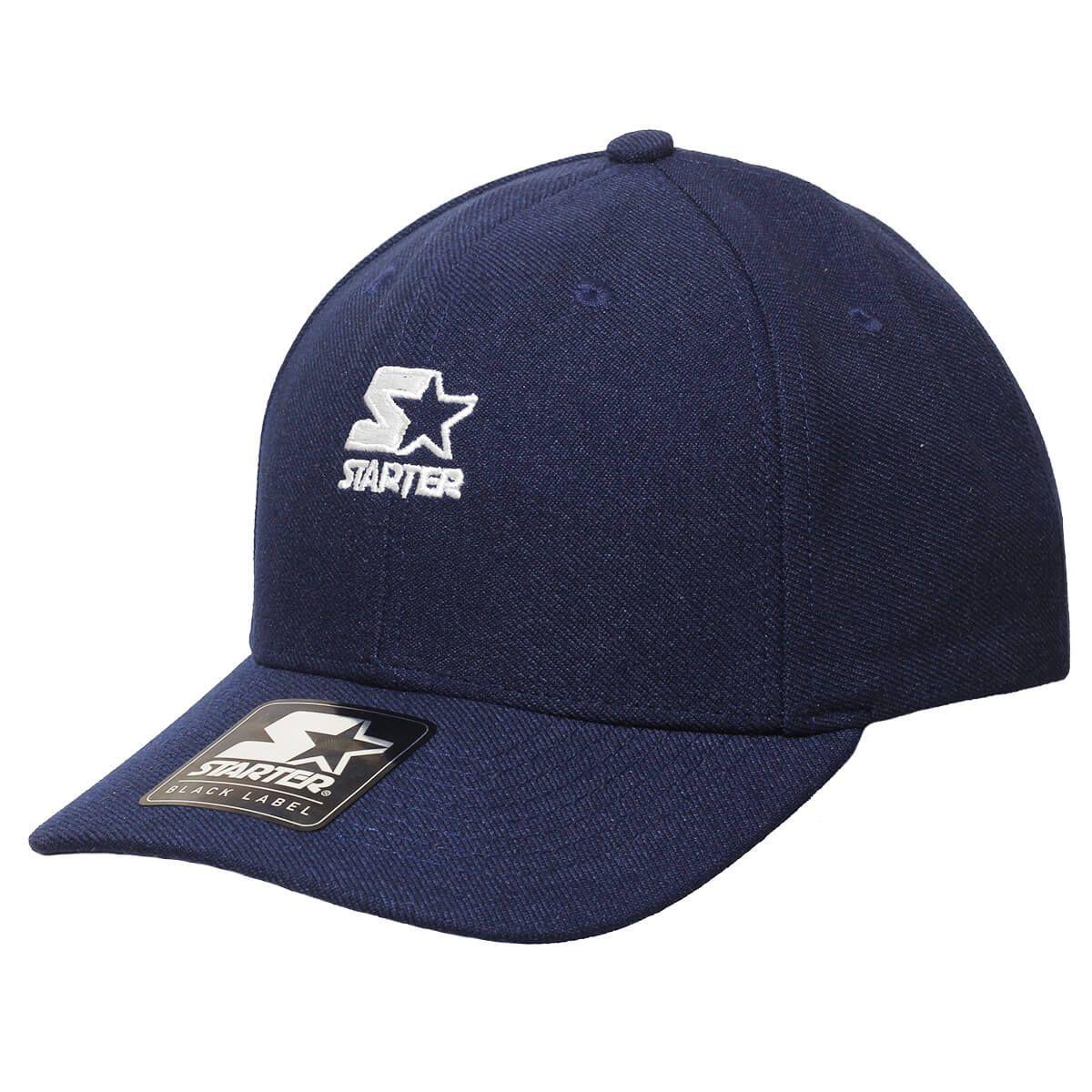 Boné Starter Aba Curva Strapback Mini Logo Colors Azul Escuro