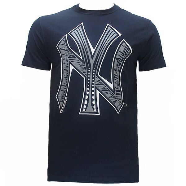 Camiseta New Era MLB NY Yankees Etnico Azul Escuro