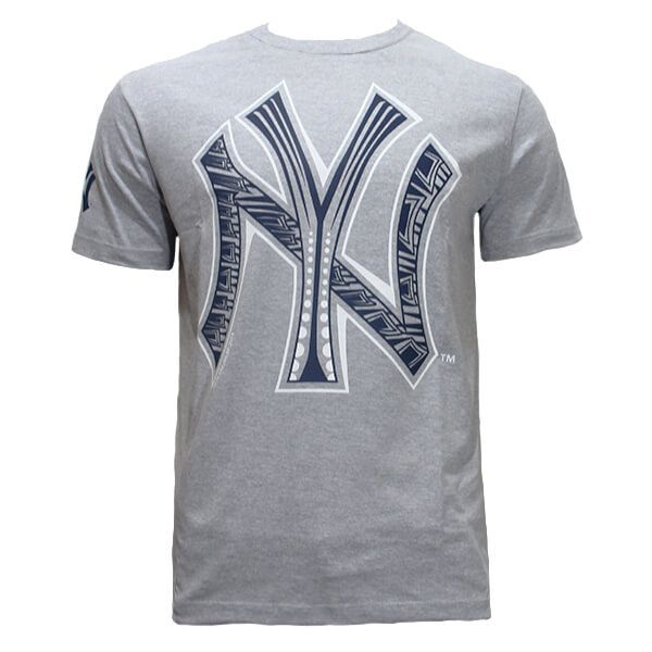 Camiseta New Era MLB NY Yankees Etnico Cinza