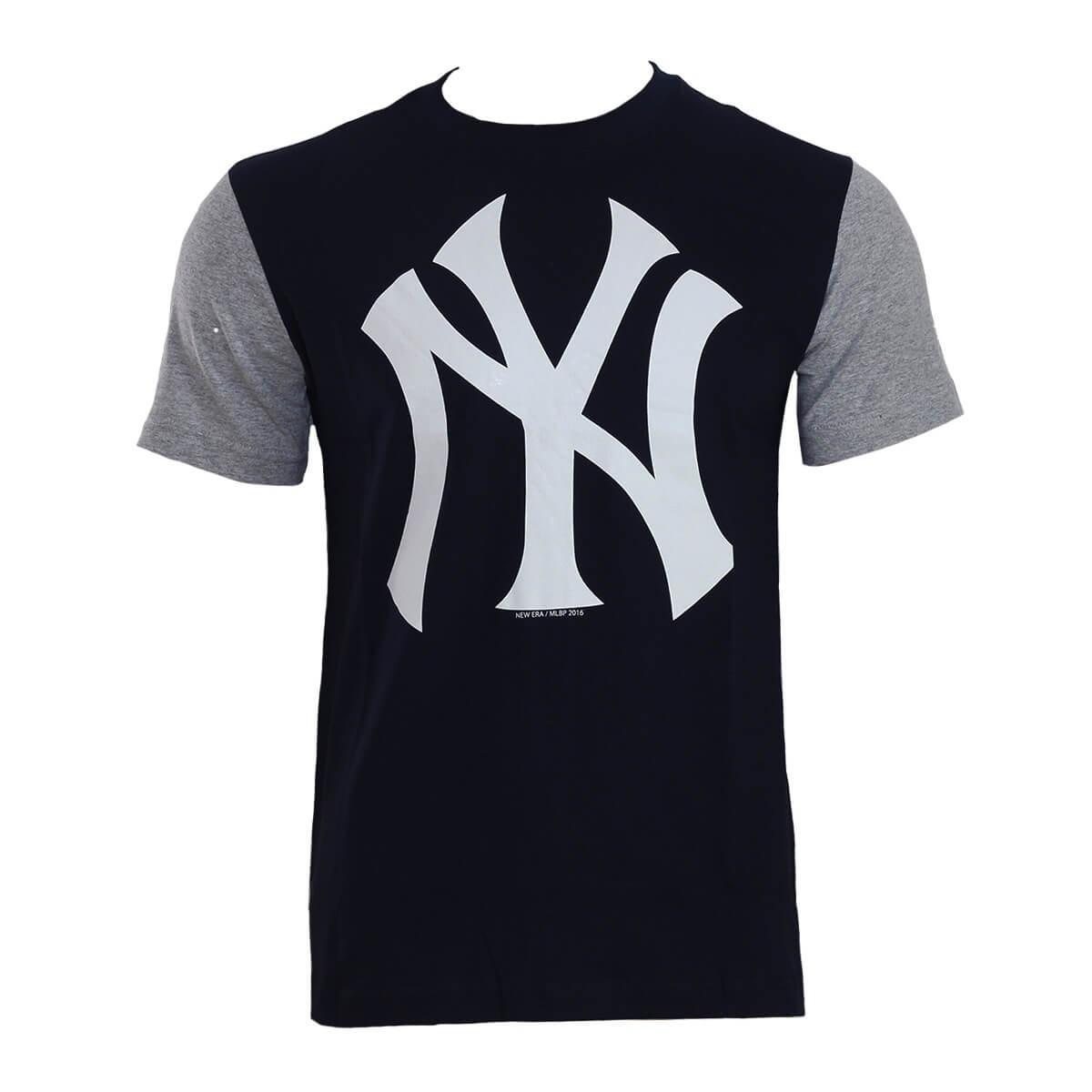 Camiseta New Era MLB NY Yankees Raglan Est 1903