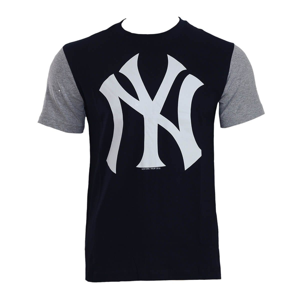 Camiseta New Era MLB NY Yankees Raglan Est 1903