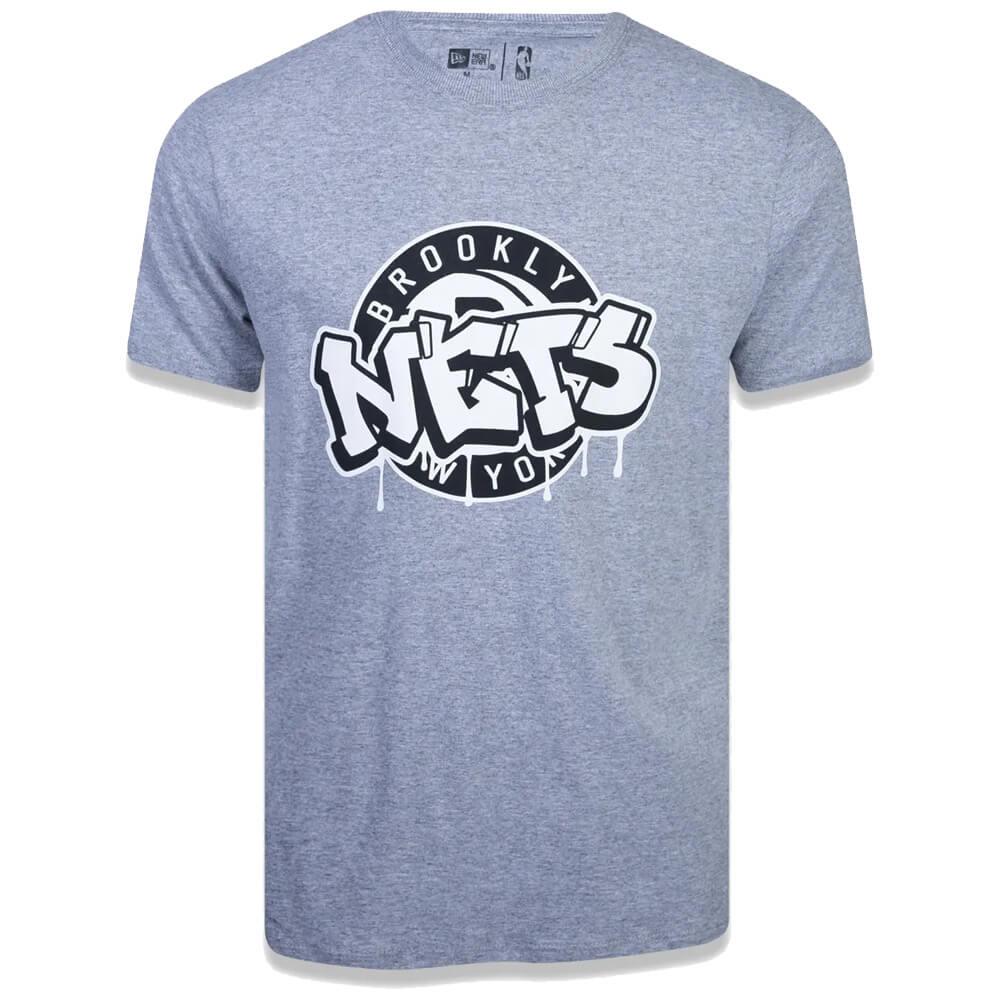 Camiseta New Era NBA Brooklyn Nets Art Graffiti