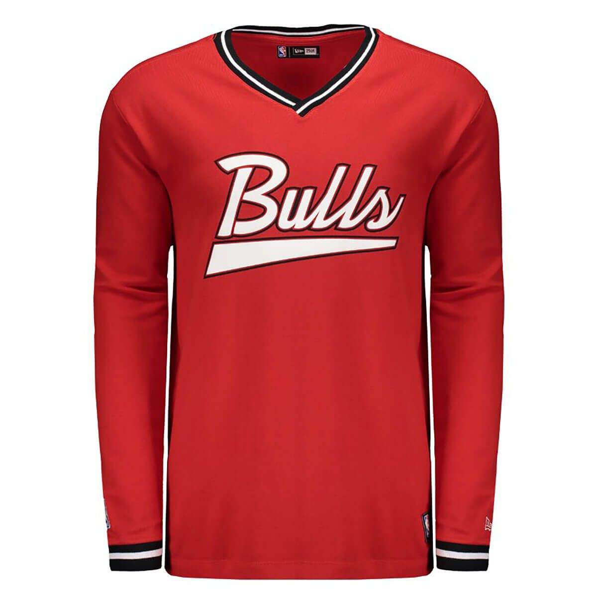 Camiseta New Era NBA Chicago Bulls Carmel