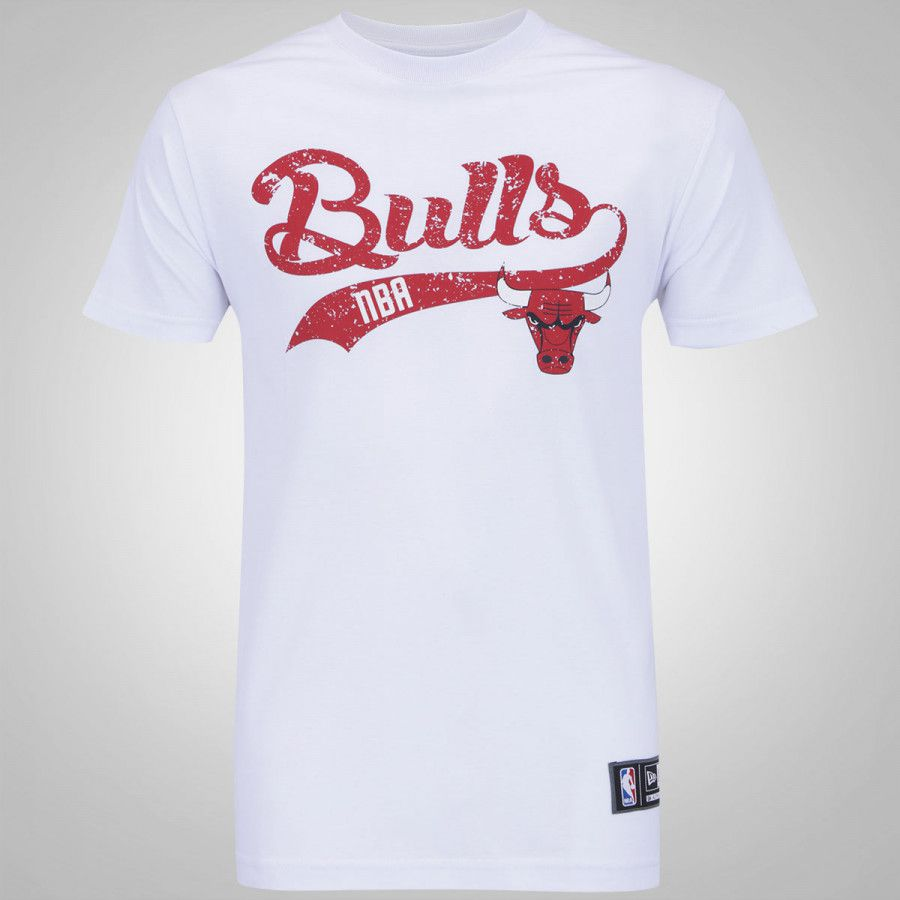 Camiseta New Era NBA Chicago Bulls College
