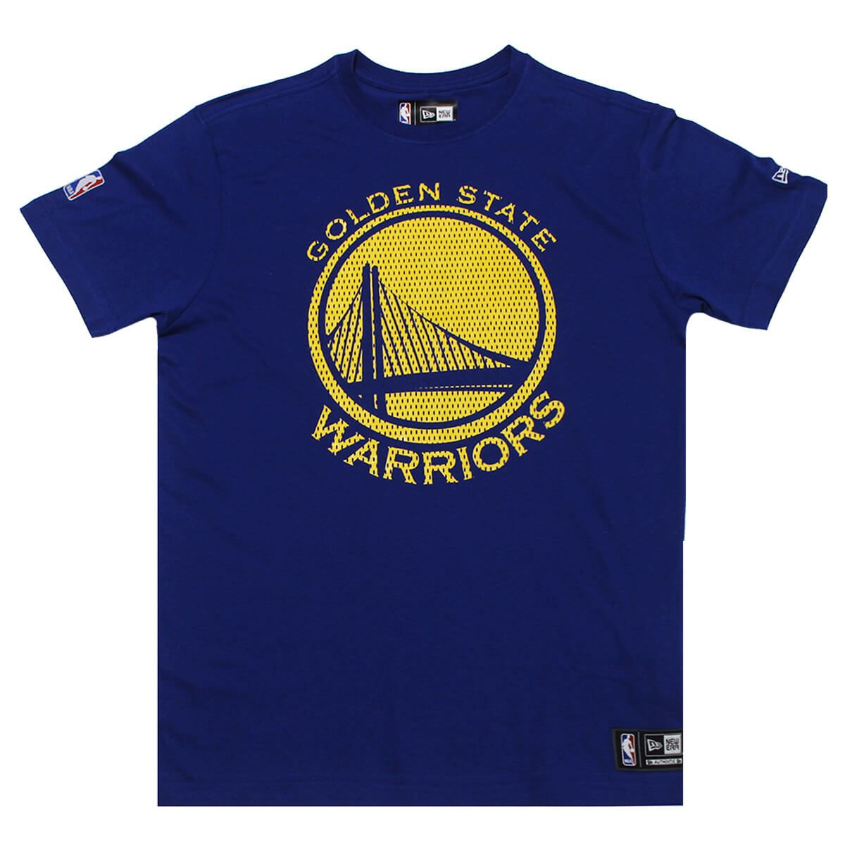 Camiseta New Era NBA Golden State Warriors Game Piece