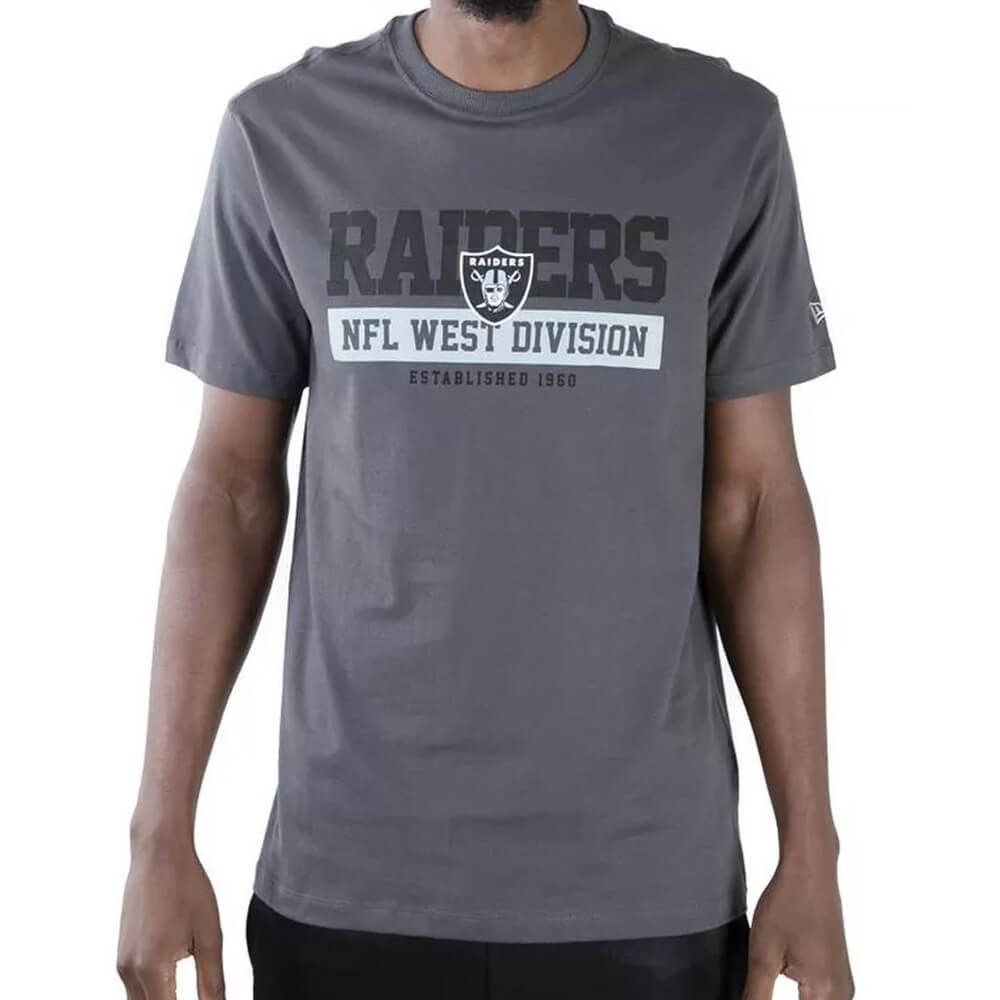 Camiseta New Era NFL Raiders Division