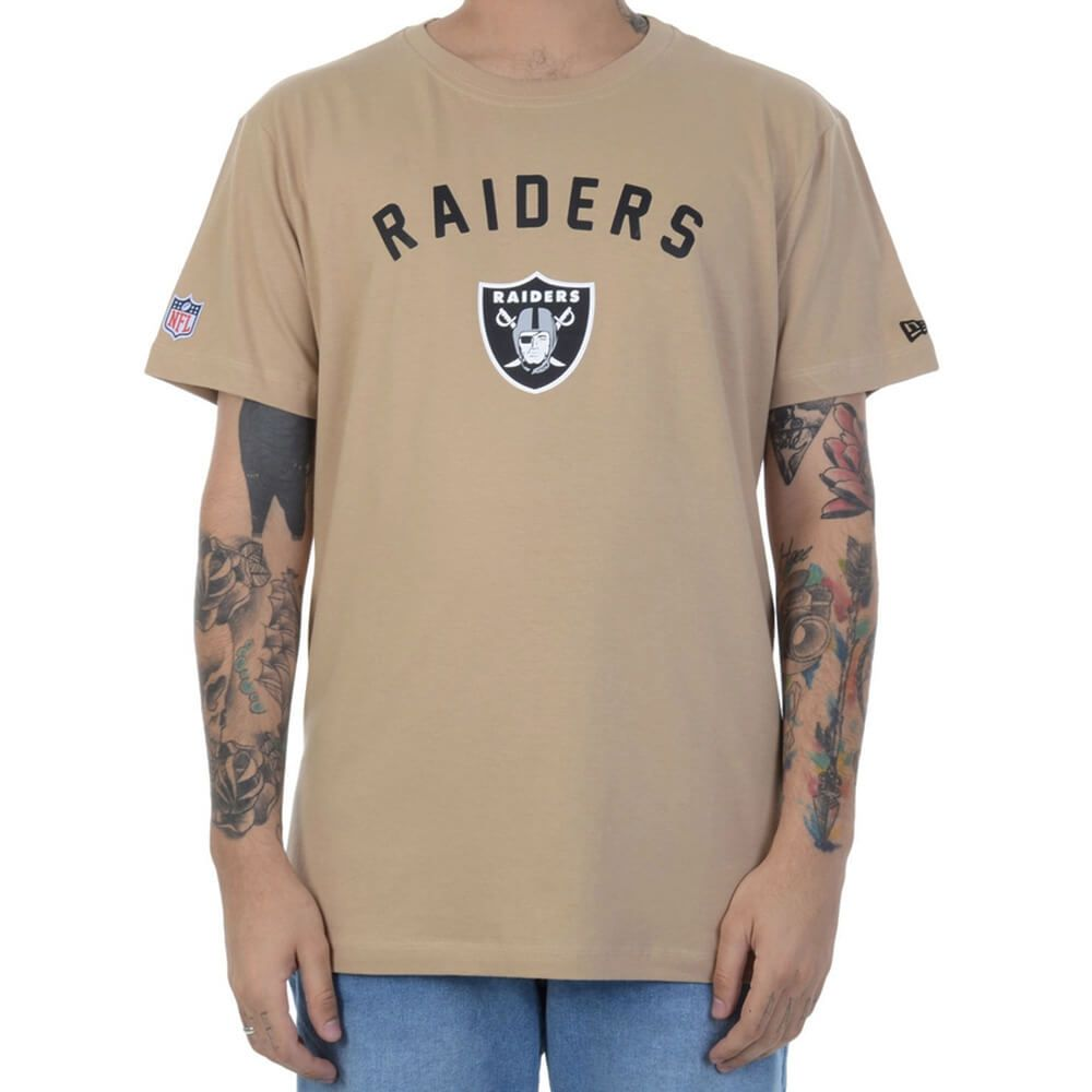 Camiseta New Era NFL Raiders Ground Essential