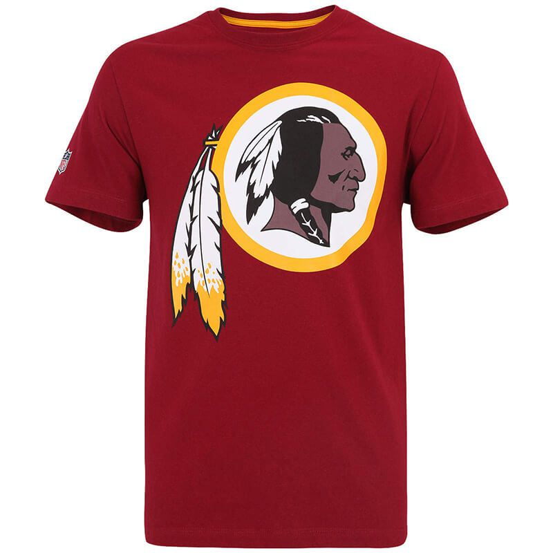 Camiseta New Era NFL Redskins Big Logo Vinho