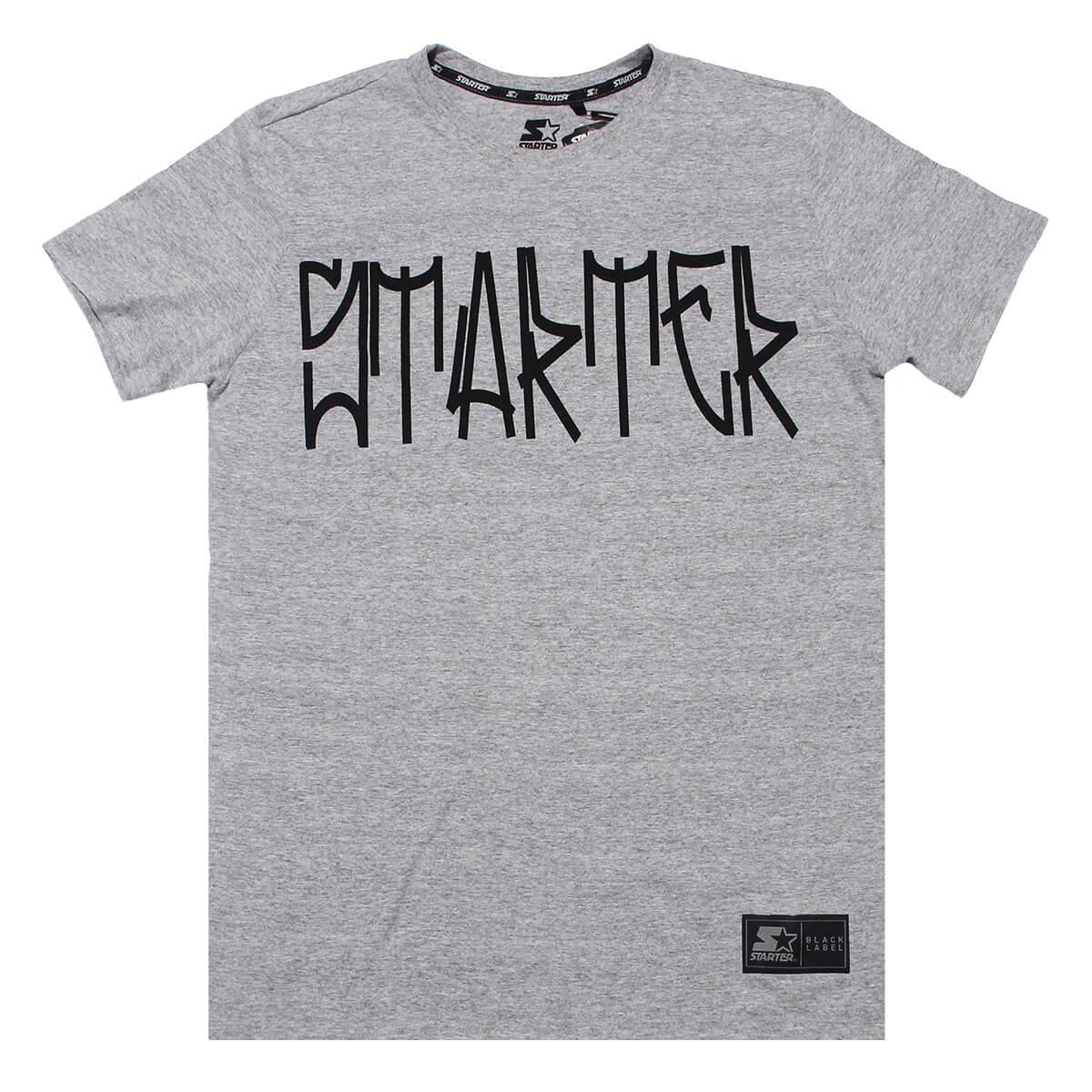 Camiseta Starter Pixo Cinza