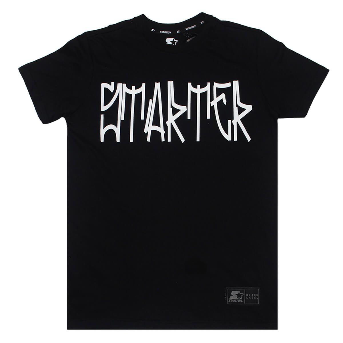 Camiseta Starter Pixo Preto