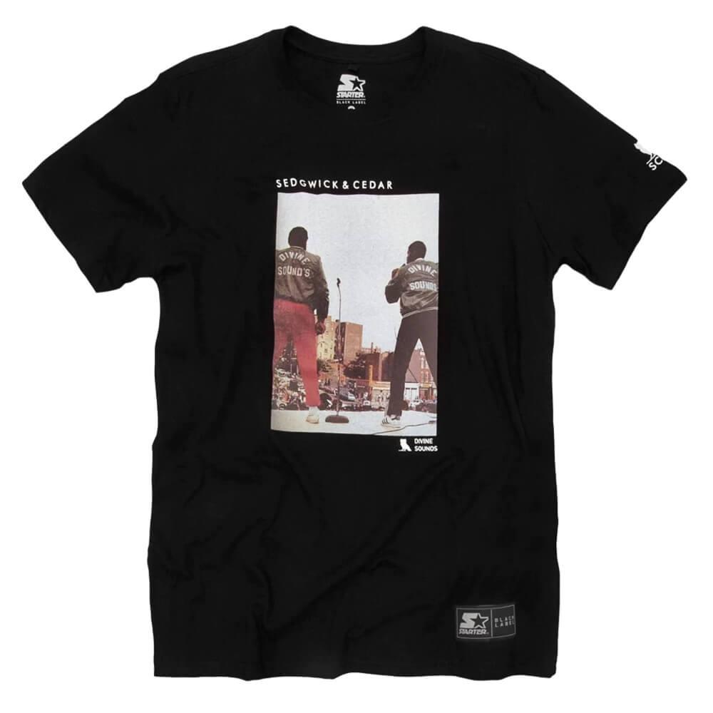 Camiseta Starter S&C Divine Sounds Preta