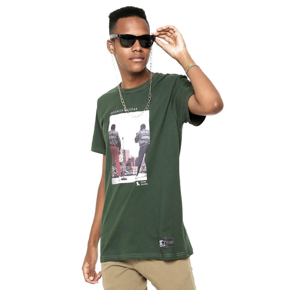 Camiseta Starter S&C Divine Sounds Verde