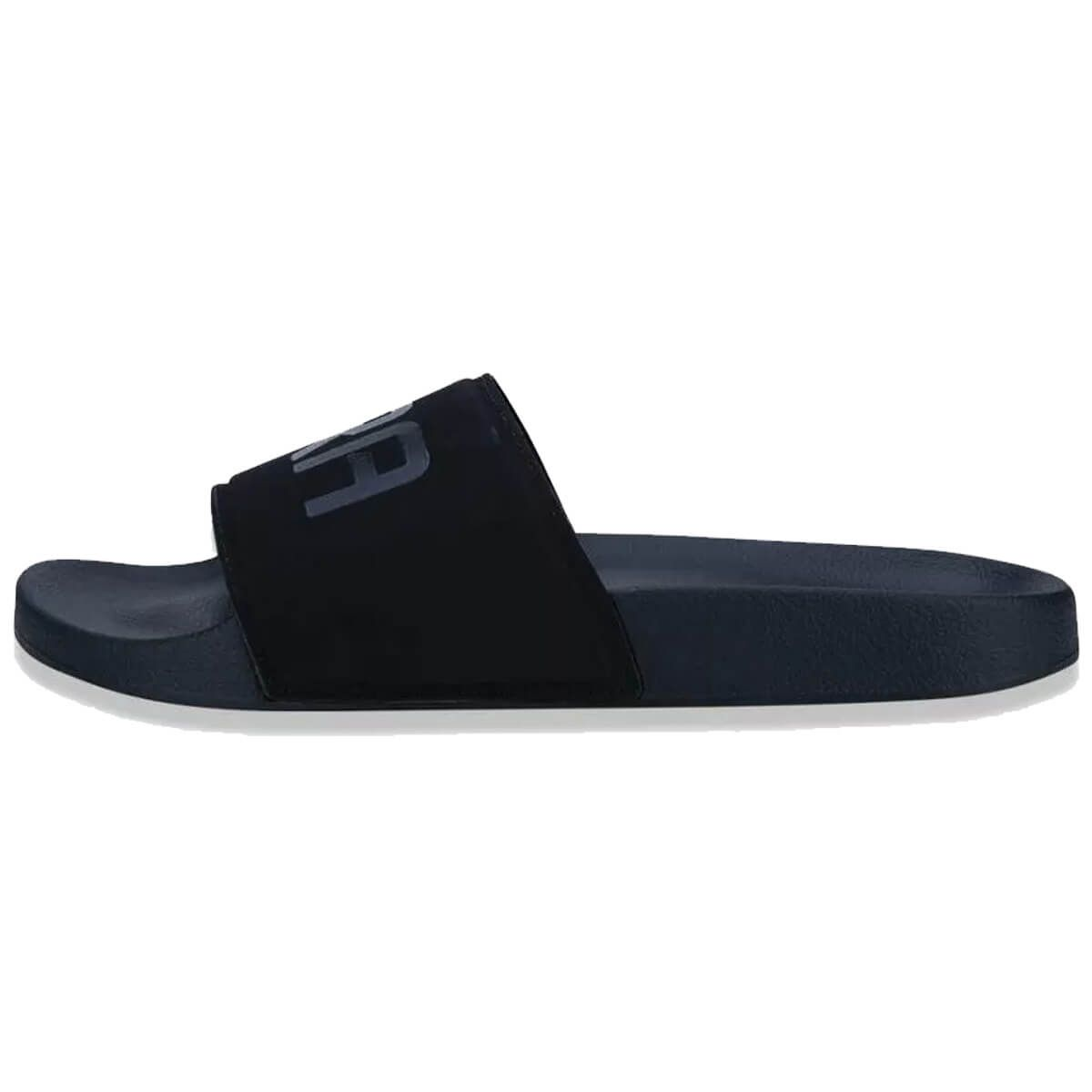 Chinelo New Era Slide Tipia Brand Flag Colors Preto