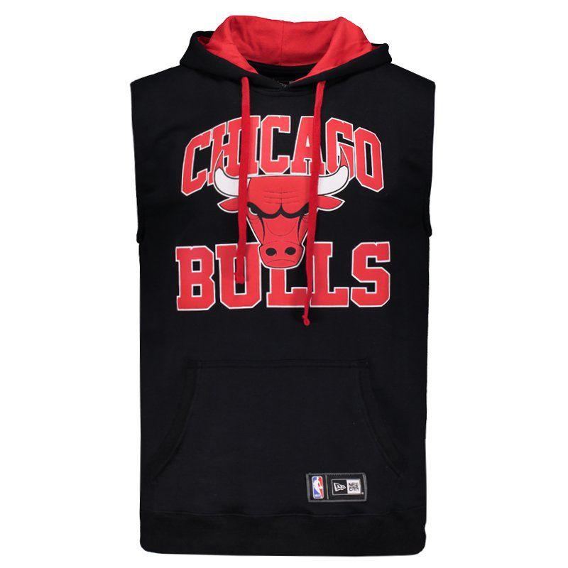 Colete New Era NBA Chicago Bulls College