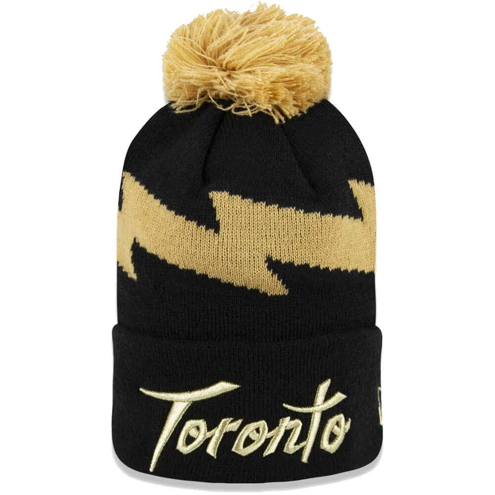 Gorro New Era NBA Toronto Raptors Script Black