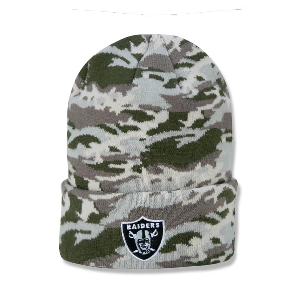 Gorro New Era NFL Las Vegas Raiders Military Full Print