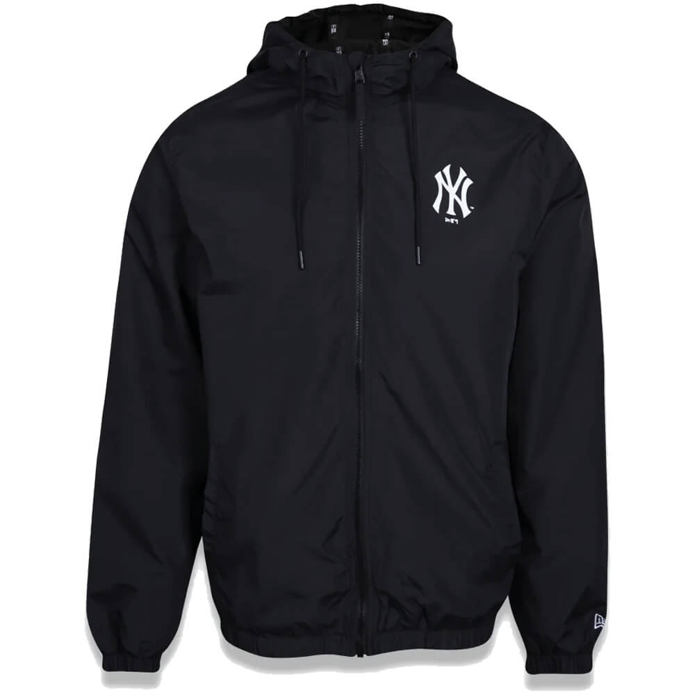 Jaqueta New Era MLB NY Yankees Corta Vento Basic Preto