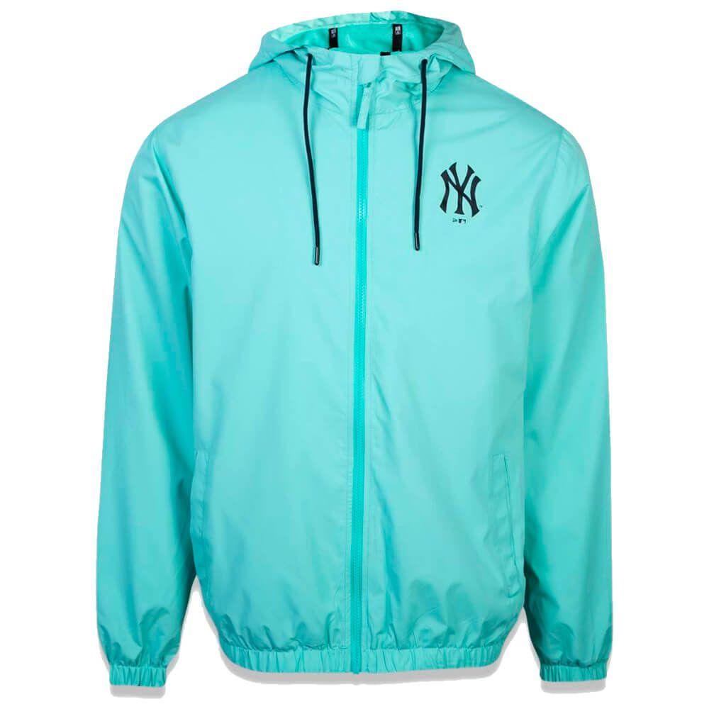 Jaqueta New Era MLB NY Yankees Corta Vento Basic Verde