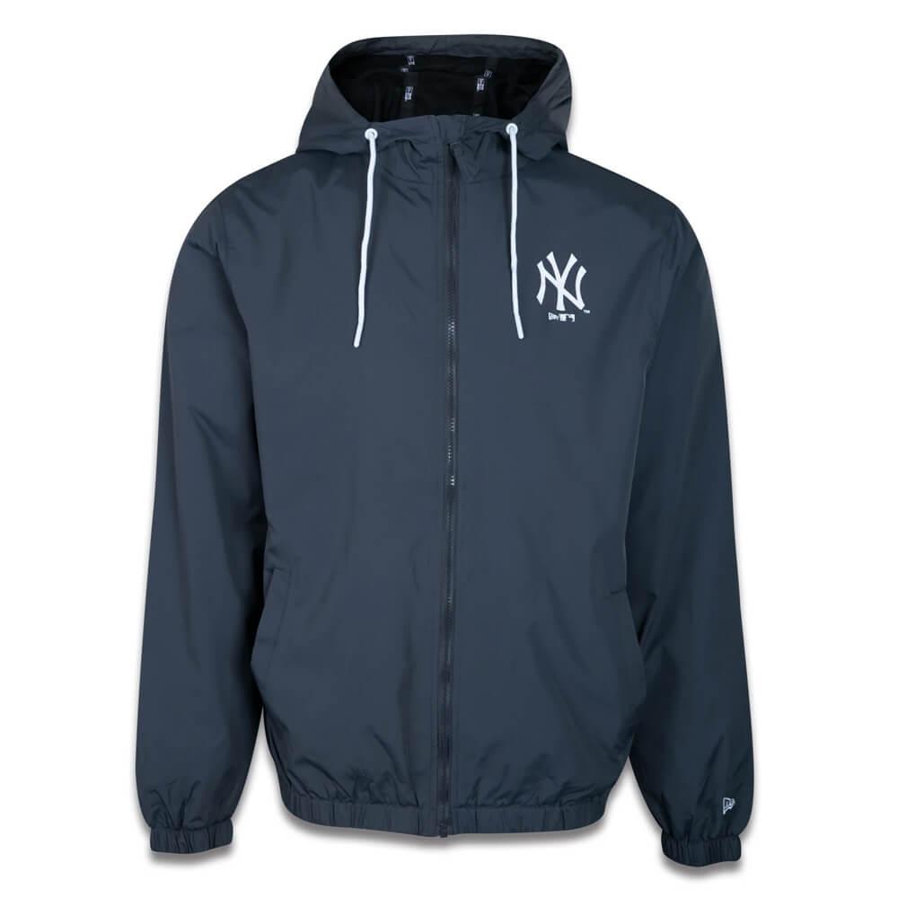 Jaqueta New Era MLB NY Yankees Corta Vento Colors Chumbo