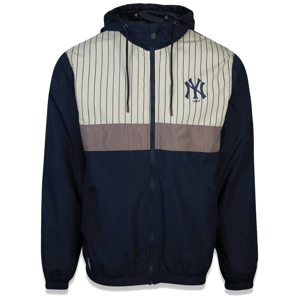 Jaqueta New Era MLB NY Yankees Corta Vento Stripe