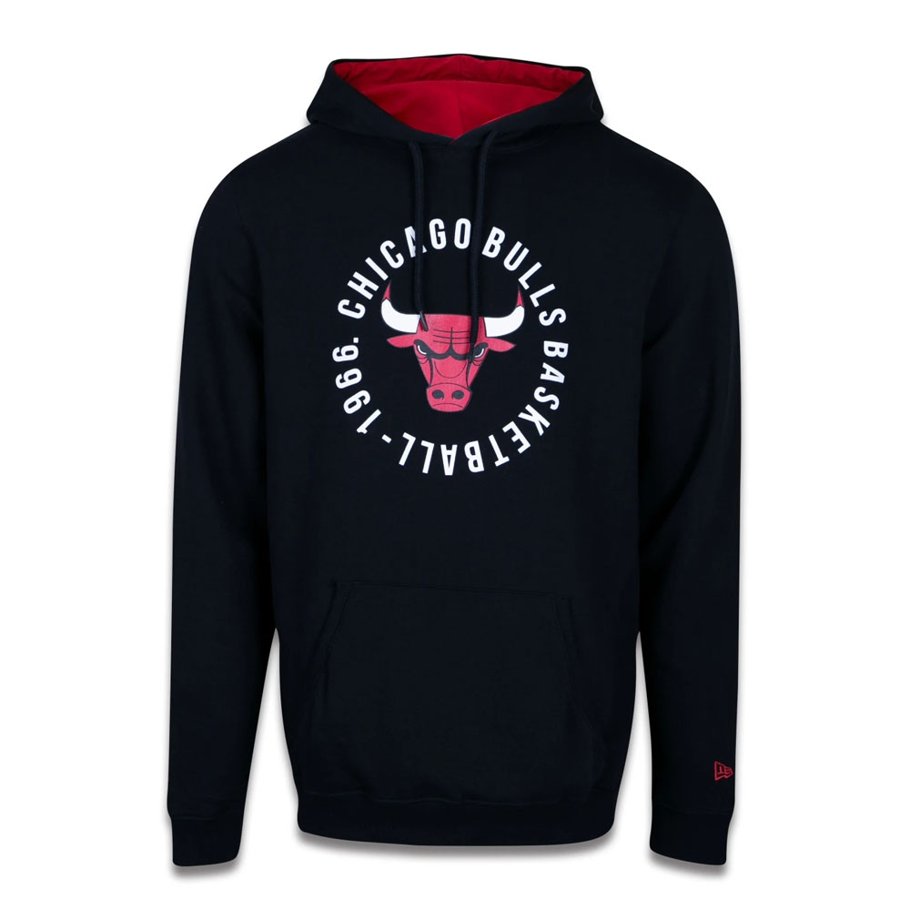 Moletom New Era NBA Chicago Bulls College Team Circles