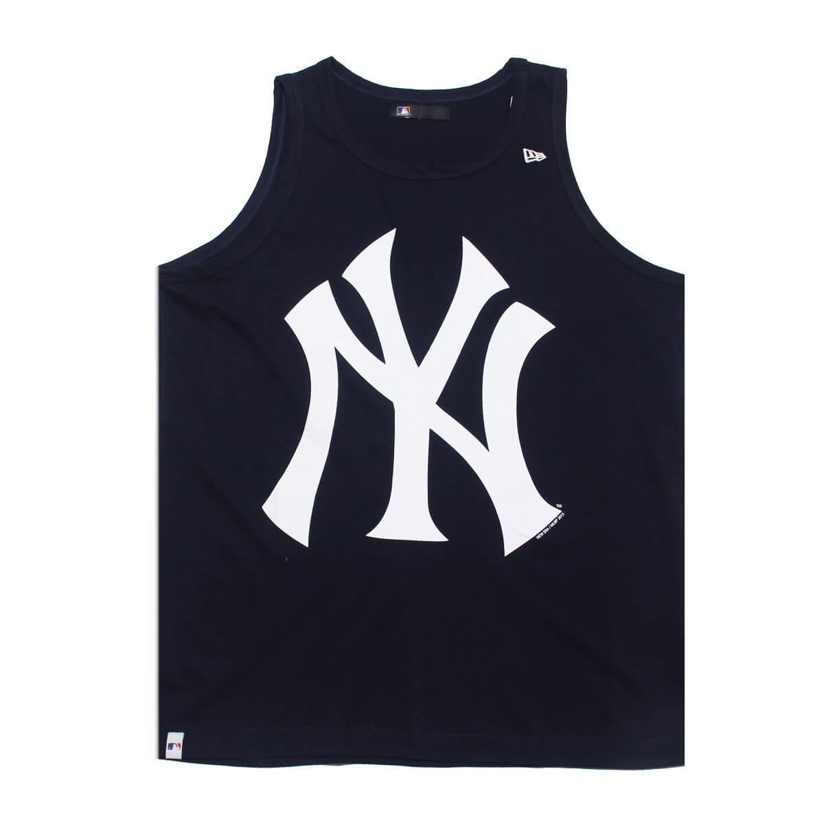 Regata New Era MLB NY Yankees Big Logo Azul Escuro