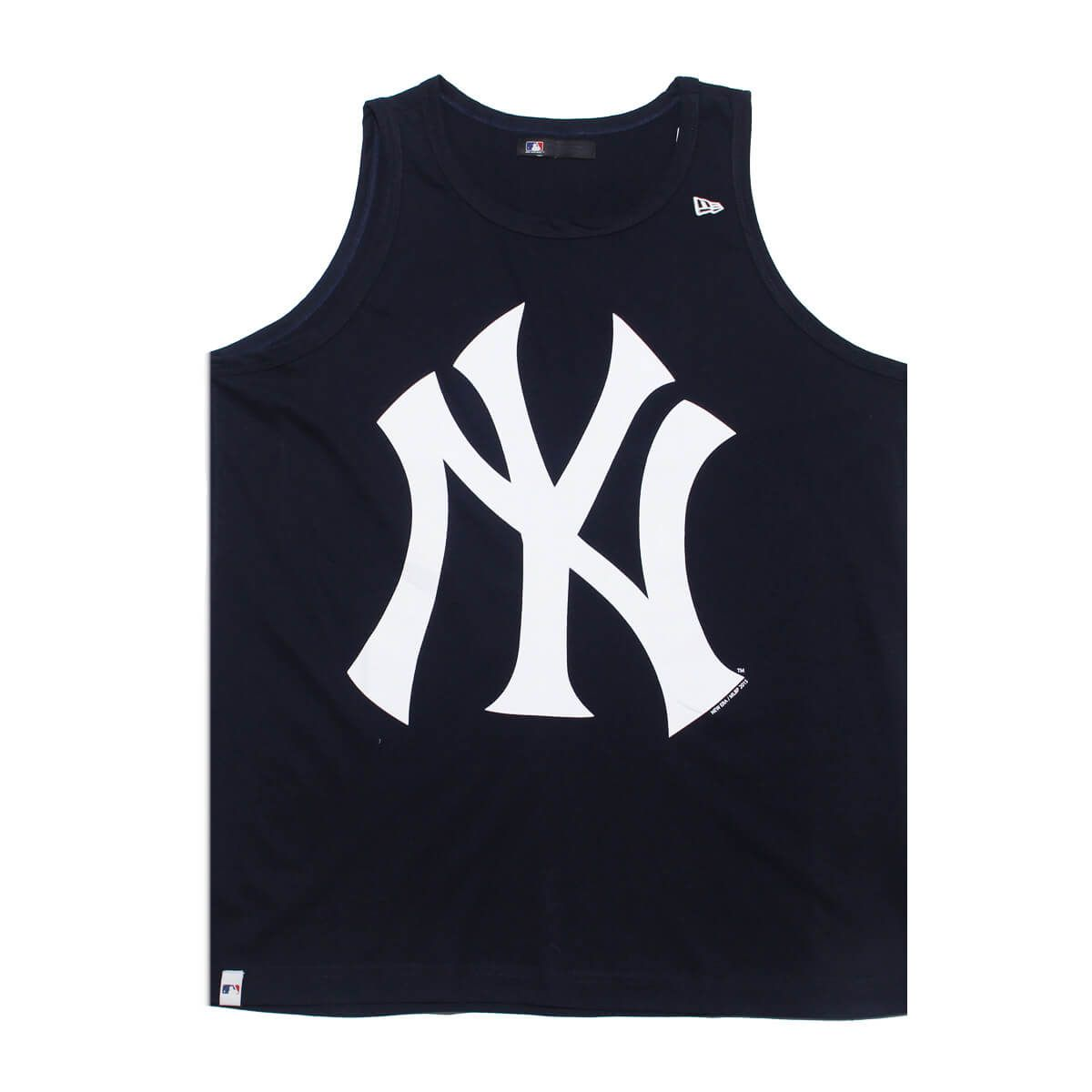 Regata New Era MLB NY Yankees Big Logo Azul Escuro