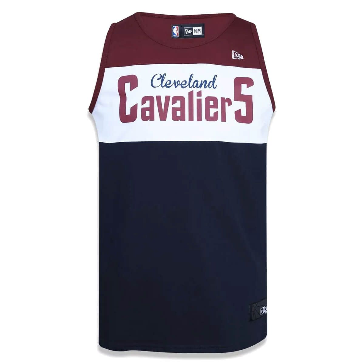 Regata New Era NBA Cleveland Cavaliers Tri