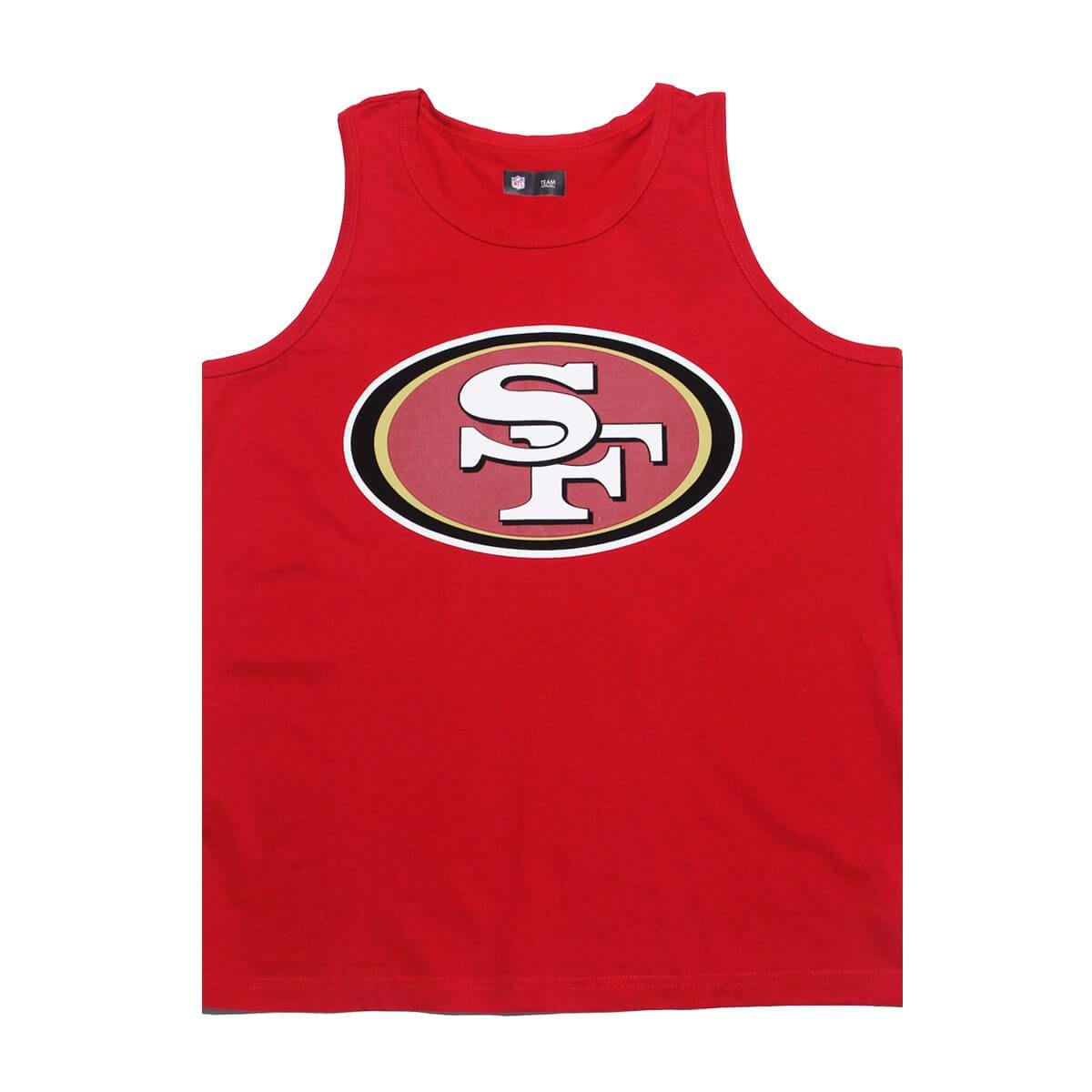Regata New Era NFL 49ers Big Logo Vermelho