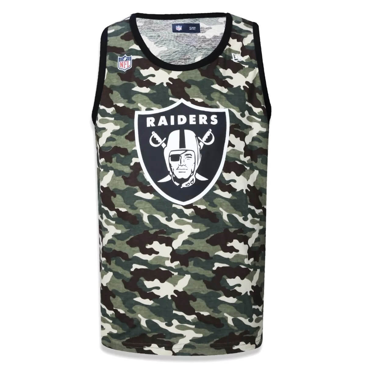 Regata New Era NFL Raiders Camo Team